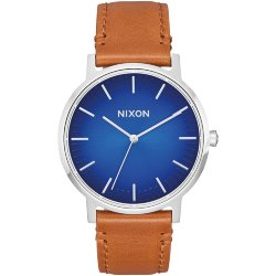 ЧАСЫ  Nixon PORTER LEATHER Blue Ombre/Saddle