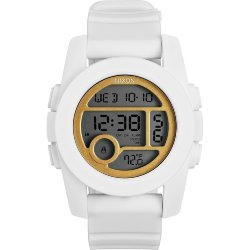 ЧАСЫ  Nixon Unit 40 ALL WHITE/GOLD
