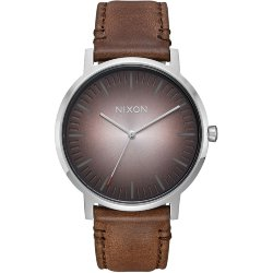 ЧАСЫ  Nixon PORTER LEATHER Ombre/Taupe