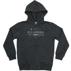 ТОЛСТОВКА  Billabong WATCHER ZIP HOOD DARK GREY HEATH