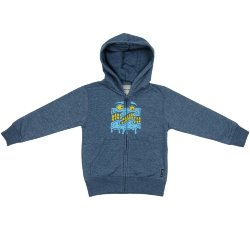 ТОЛСТОВКА  Billabong WAVE MELT ZH TODDLER DARK MARINE