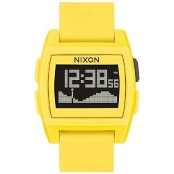 ЧАСЫ  Nixon BASE TIDE Yellow Resin