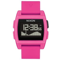 ЧАСЫ  Nixon BASE TIDE Punk Pink Resin