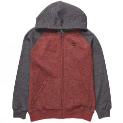ТОЛСТОВКА  Billabong BALANCE ZIP HOOD BOY Rust