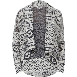 КАРДИГАН  Billabong ALIANA BLACK ETHNIC