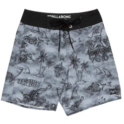 БОРДШОРТЫ  Billabong TRUNK X BOY 15 Neutral Grey