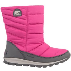 САПОГИ  SOREL YOUTH WHITNEY MID Pink Ice, Quarry