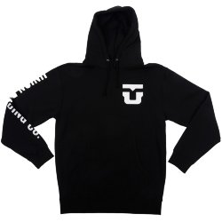 ТОЛСТОВКА  Union HOODED SWEATSHIRT BLACK
