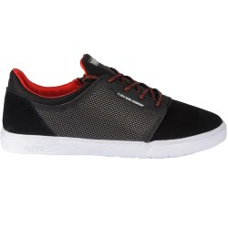 НИЗКИЕ КЕДЫ  DVS STRATOS LT+KIDS BLK RED SUEDE