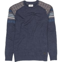 СВИТЕР  Billabong WAVE JACK SWEATER NAVY HEATHER
