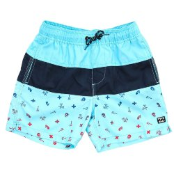 БОРДШОРТЫ  Billabong TRIBONG PRINTED 1 Aqua