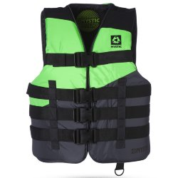 ЖИЛЕТ ВОДНЫЙ  Mystic RENTAL FLOATATION VEST WAKE BLACK