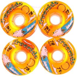 КОЛЕСА  Sector9 FREERIDE 7 WHEELS ORANGE