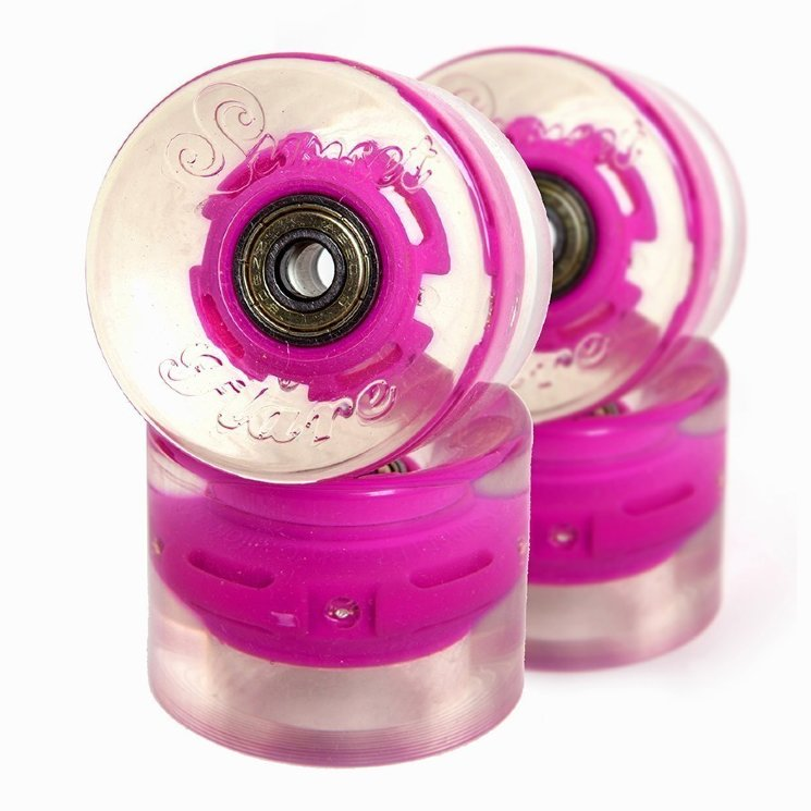КОЛЕСА  SUNSET SKATEBOARDS CRUISER WHEEL WITH ABEC9 PINK
