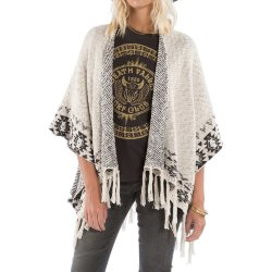 КАРДИГАН  Billabong DESERT KISS PONCHO WHITE CAP