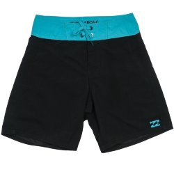 БОРДШОРТЫ  Billabong ALL DAY  CUT OG  15 black/cyan