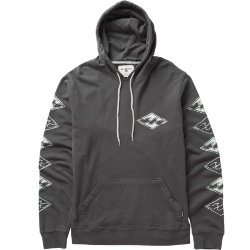 ТОЛСТОВКА  Billabong STAMPED UP HOOD ANTHRACITE