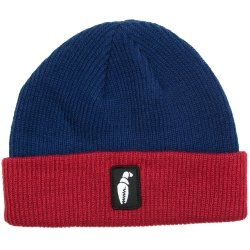 ШАПКА  CRABGRAB BUNK BED BEANIE NAVY RED