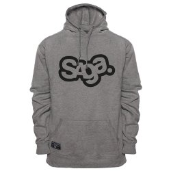 ТОЛСТОВКА  Saga OG LOGO GRAPHIC PULLOVER GREY