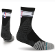 НОСКИ  Stance NBA ONCOURT QTR BOLD STRIPE BLACK