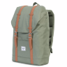 РЮКЗАК  Herschel RETREAT MID-VOLUME Deep Lichen Green/Tan Synthetic Leather