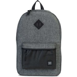 РЮКЗАК  Herschel Heritage RAVEN CROSSHATCH/BLACK RUBBER