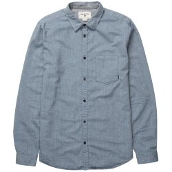 РУБАШКА  Billabong ALL DAY OXFORD LS SH DEEP SEA