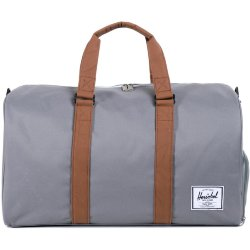 СУМКА  Herschel Novel GREY/TAN SYNTHETIC LEATHER