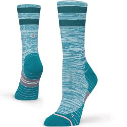 НОСКИ  Stance RUN WOMENS UNCOMMON SOLID RUN CREW TEAL