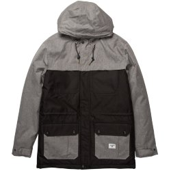 КУРТКА ГОРОДСКАЯ  Billabong ALVES CONTRAST JACKE GREY HEATHER