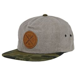 КЕПКА  Nixon BEACHSIDE SNAP BACK HAT KHAKI/CAMO