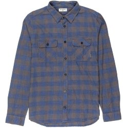 РУБАШКА  Billabong ALL DAY FLANNEL LS DEEP BLUE