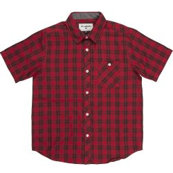 РУБАШКА  Billabong ALL DAY CHECK SS BOY RED