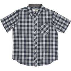 РУБАШКА  Billabong ALL DAY CHECK SS BOY INDIGO