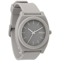 ЧАСЫ  Nixon Time Teller P MATTE STEEL GRAY