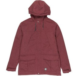КУРТКА ГОРОДСКАЯ  Billabong ALVES 10K JACKET BORDEAUX HTR