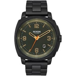 ЧАСЫ  Nixon CHARGER All Black/Surplus
