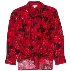 РУБАШКА  Billabong MEADOW LIGHT VELVET RED