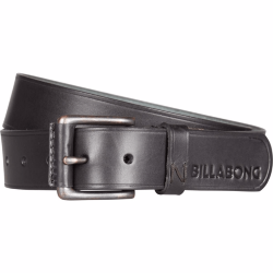 РЕМЕНЬ  Billabong CURVA LEATHER BELT BLACK