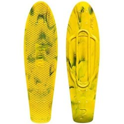 ДЕКА ЛОНГБОРД  Penny Deck Nickel 27 MARBLE YELLOW/BLACK