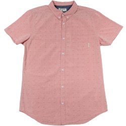 РУБАШКА  Billabong LAKOTA SHIRT SS Cardinal Red