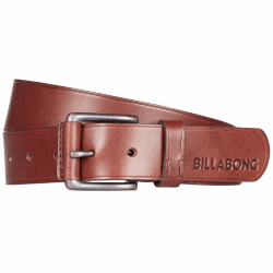 РЕМЕНЬ  Billabong CURVA LEATHER BELT CHOCOLATE