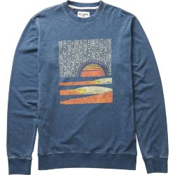 ТОЛСТОВКА  Billabong SUNSET-ABEL CREW DARK MARINE