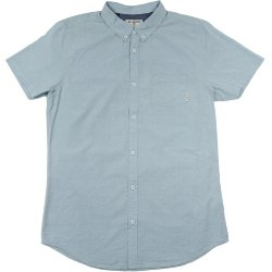 РУБАШКА  Billabong LAKOTA SHIRT SS POWDER BLUE