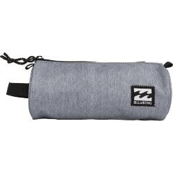 СУМКА  Billabong BARREL PENCIL CASE GREY HEATHER