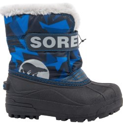 БОТИНКИ  SOREL CHILDRENS SNOW COMMANDER PRINT Abyss, Super Blue