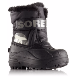 БОТИНКИ  SOREL CHILDRENS SNOW COMMANDER Black, Charcoal