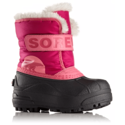 БОТИНКИ  SOREL CHILDRENS SNOW COMMANDER Tropic Pink, Deep Blush