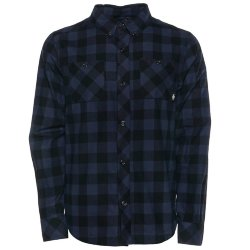 РУБАШКА  Saga LIFE BUTTON-UP Denim Gingham
