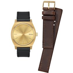 ЧАСЫ  Nixon TIME TELLER PACK All Gold/Black/Brown